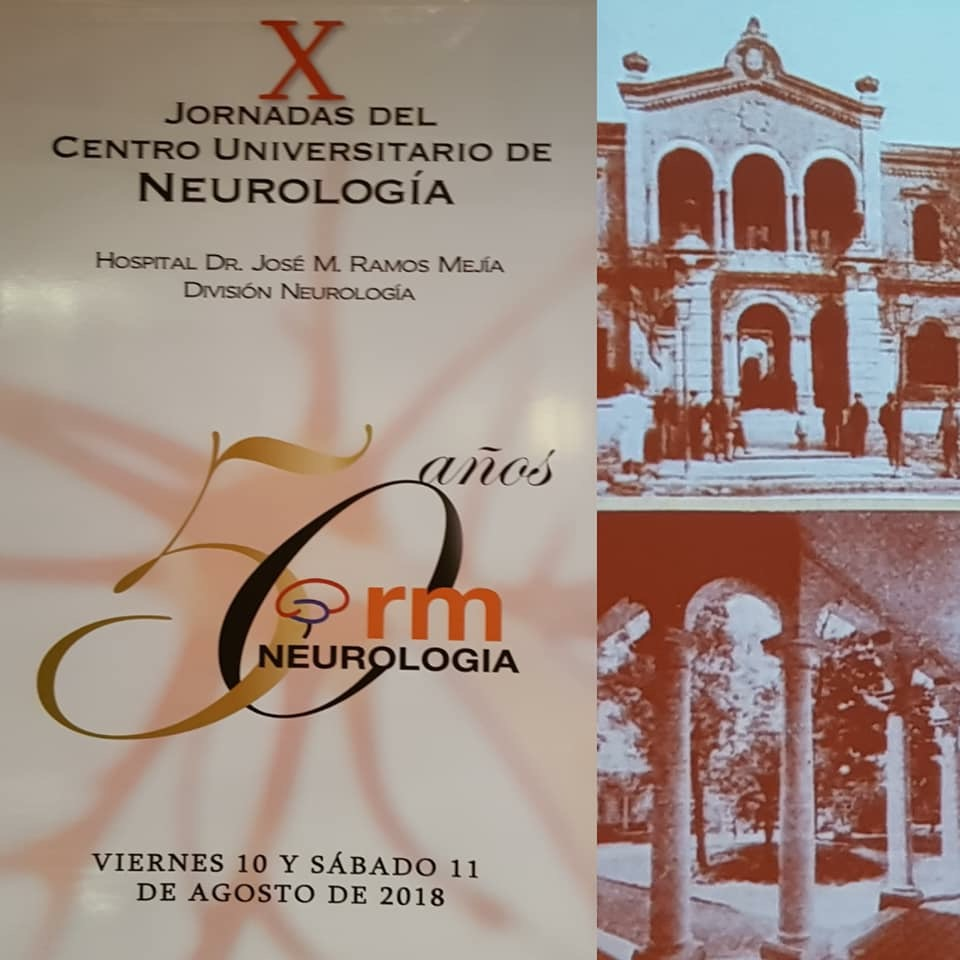 X Jornadas del Centro Universitario de Neurología Hospital Ramos Mejía Dra. Lucrecia Lopez
